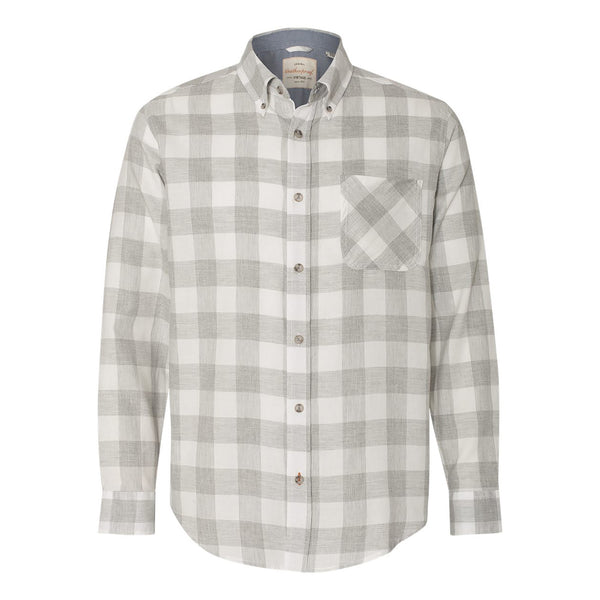 Weatherproof® Vintage Brushed Flannel Long Sleeve Shirt