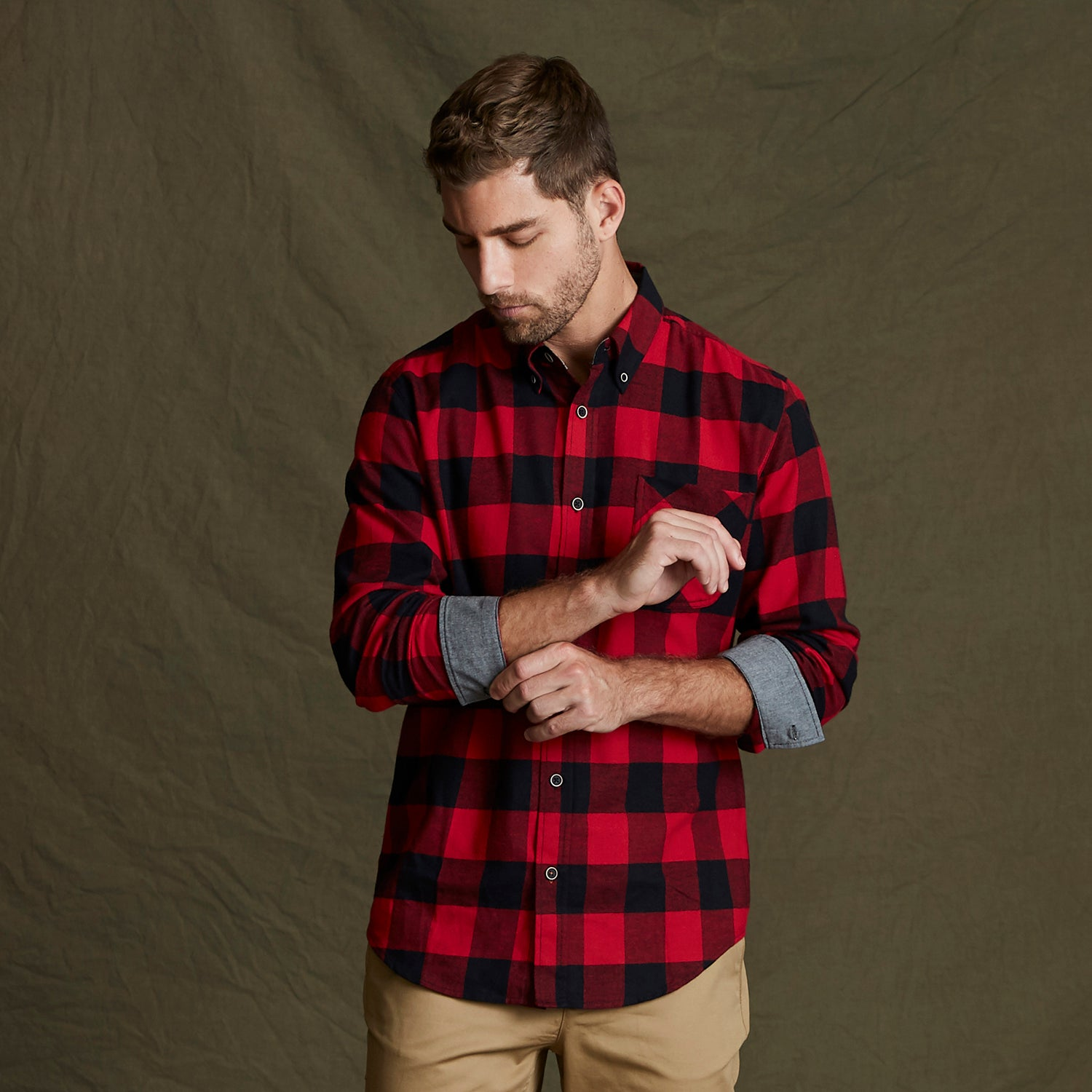 164761 - Weatherproof® Vintage Brushed Flannel Long Sleeve Shirt