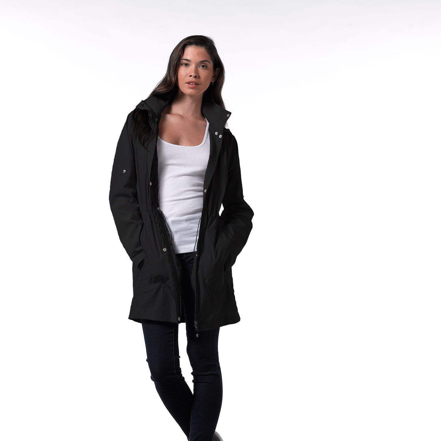 17605W - 32 Degrees™ Weatherproof® Trench jacket