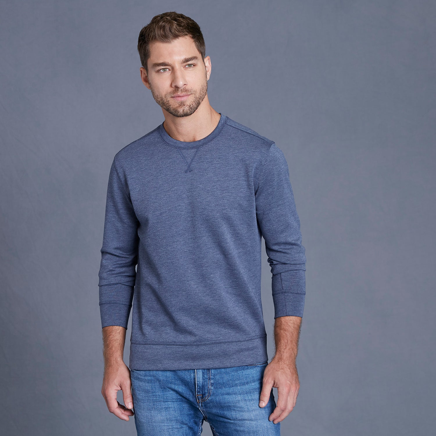 18703 - HeatLast Fleece Tech Crewneck