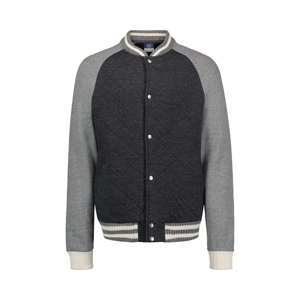 Austin Quilted Varsity Jacket