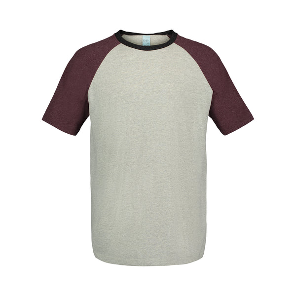 (003) Maroon Heather / Concrete