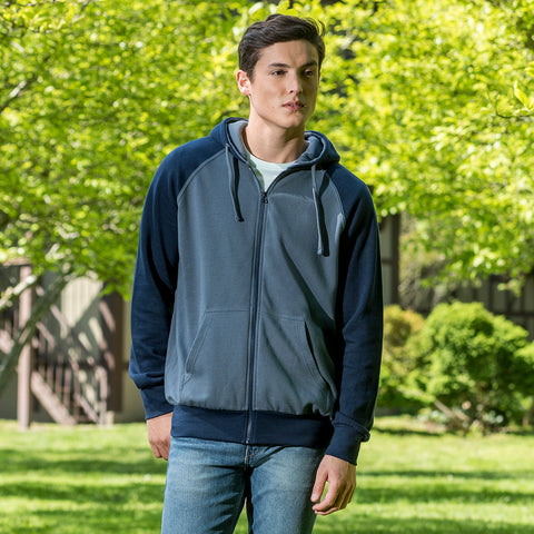 20201 - Cantor Ottoman Stitch Full Zip