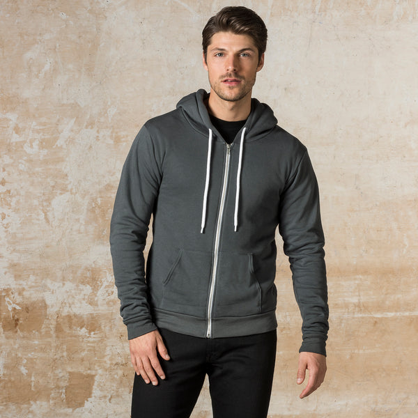 All American Full Zip Hooded Sweatshirt