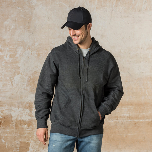 Fundamental Fleece Zip Hood