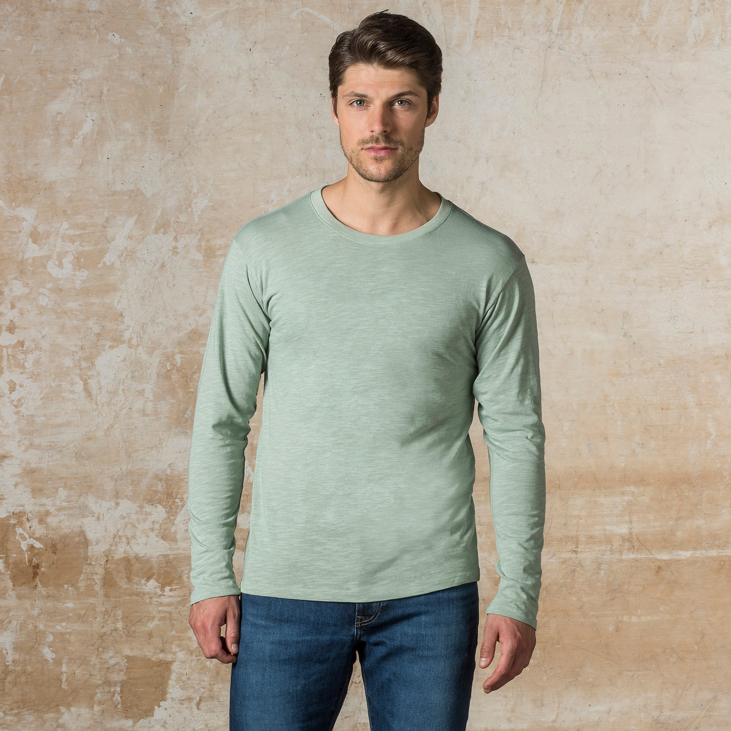 20468 - River Ringspun Slub Long Sleeve Tee