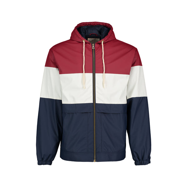 Weatherproof Vintage Colorblock Rain Jacket