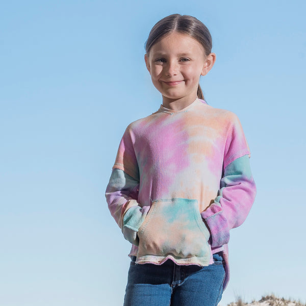 Girls Angel Terry Nora Pullover