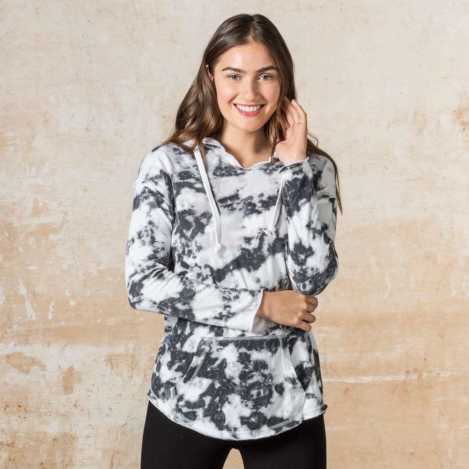 W17122 - Angel Fleece Terry Nora Pullover