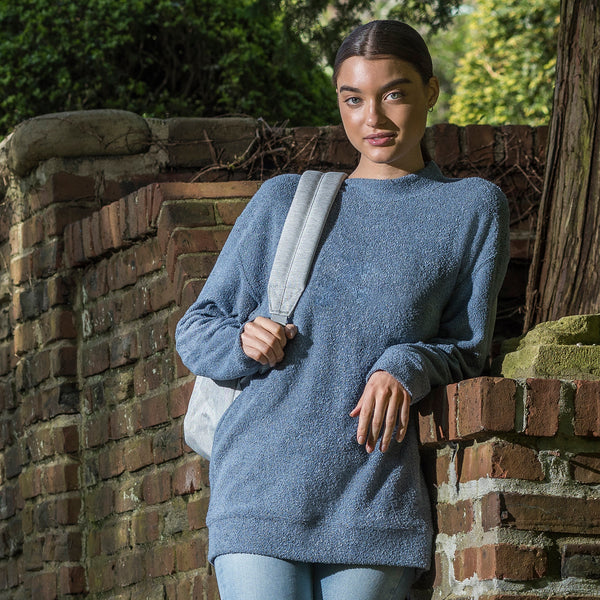 Lyla Loop Fleece Mock-Neck