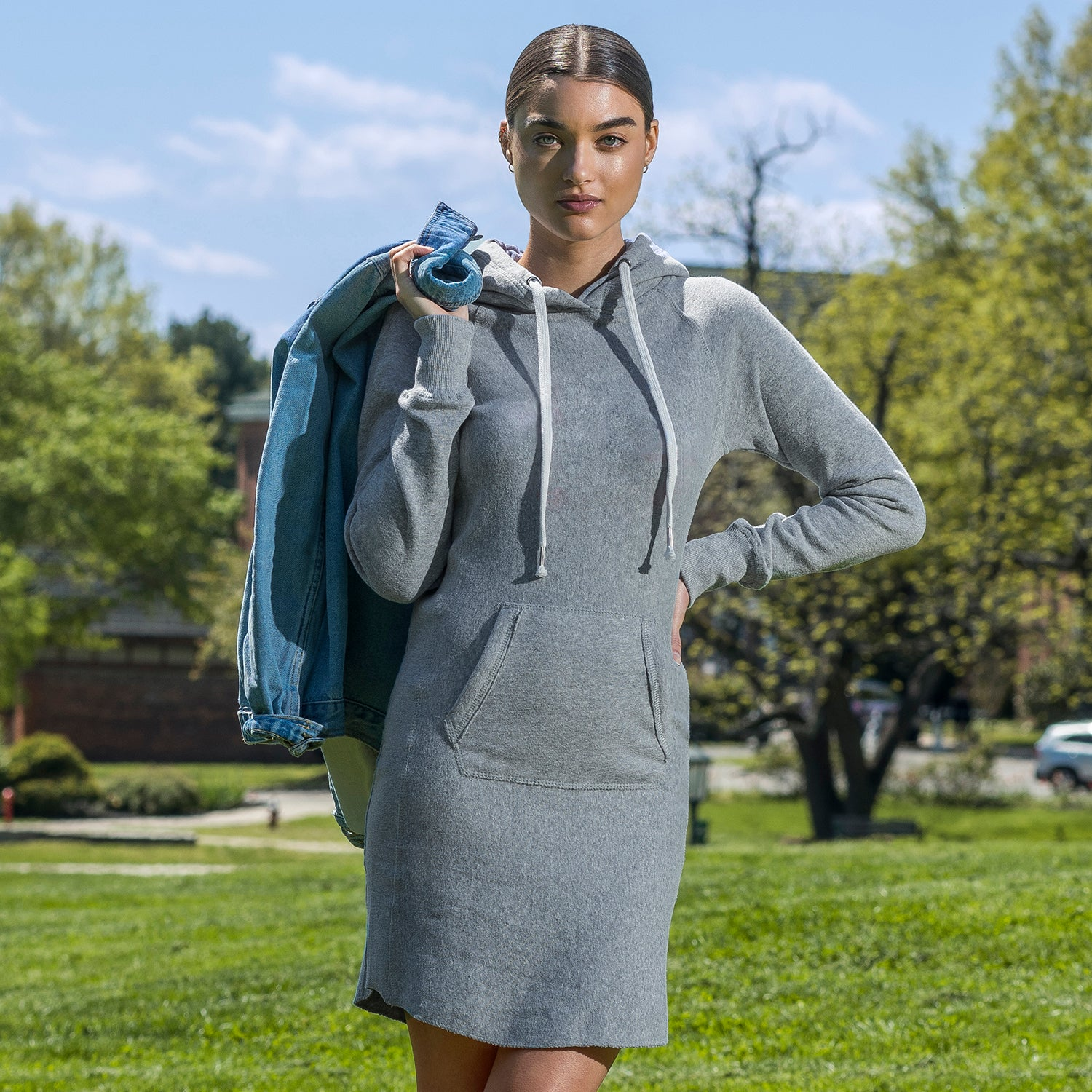 W2340 - Suzie Sweatshirt Dress