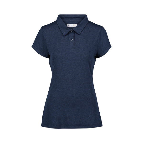 CoolLast Ladies Heather Lux Polo