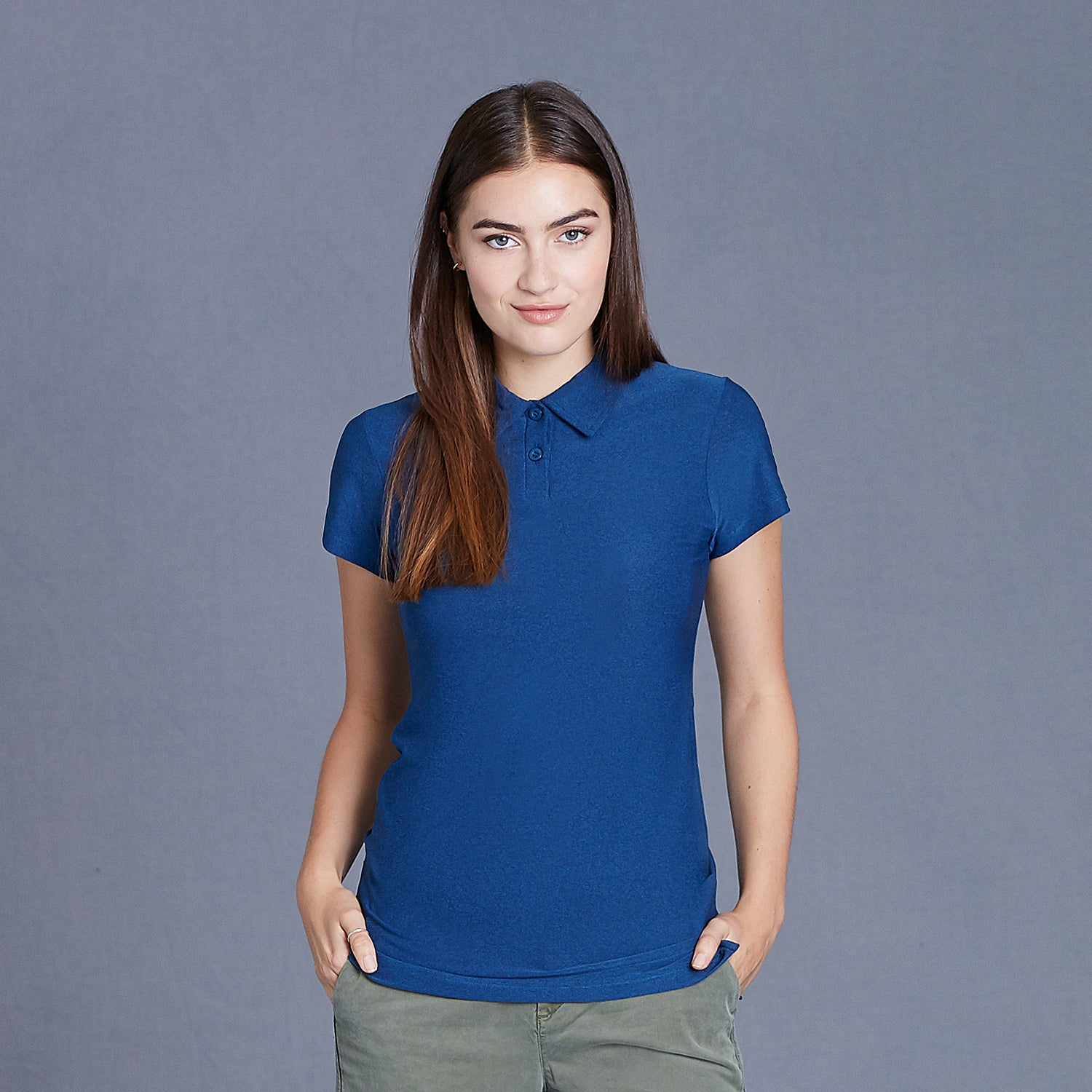 W19714 - CoolLast Ladies Heather Lux Polo