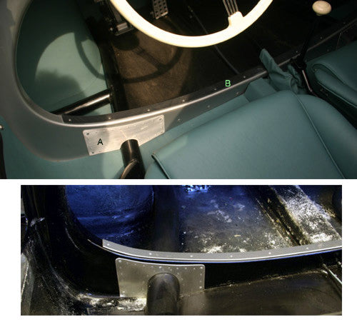 #HA11 - Alloy trim for lower hoop and Chassis Bezels