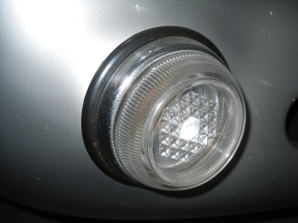 #EL22.4 - 550 Spyder, front running (turn) signal light assembly, Clear.
