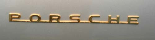 #SC11 - Porsche script, gold (one unit)