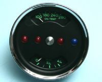#GA03 - Original VDO, re-manufactured 550 Spyder Style Combination gauge
