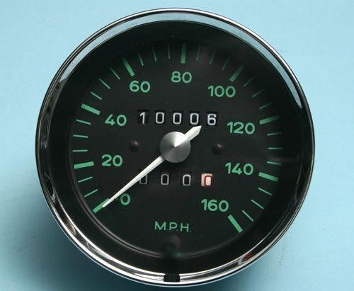 #GA02 - Original VDO, re-manufactured 550 Spyder Style Speedometer
