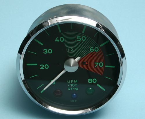 #GA01 - Original VDO, re-manufactured 550 Spyder Style Large tachometer