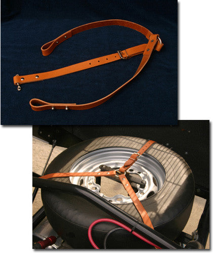 Spyder Tan Leather Spare Tire Strap Grande on Us Cars Price