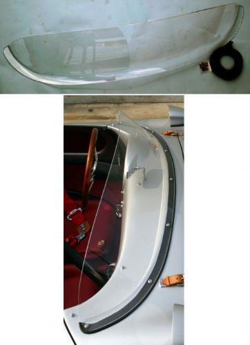 #BO14.2 - Inter-changeable, Full Plexi windshield conversion kit