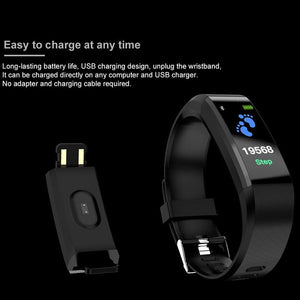 Smart Waterproof Bluetooth Bracelet Watch - ساعة ذكية سوار