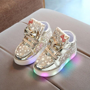 Fashion baby luminous shoes - حذاء اطفال مضيئ