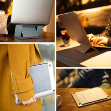 Load image into Gallery viewer, Portable Lightweight Laptop/Tablet Stand - حاملة لابتوب خفيفة