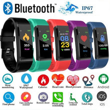 Load image into Gallery viewer, Smart Waterproof Bluetooth Bracelet Watch - ساعة ذكية سوار