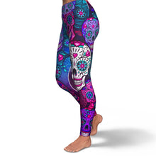 Load image into Gallery viewer, Skull Leggings - سروال الجماجم