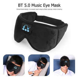 Wireless Bluetooth Headset Sleep Mask - ستيريو لاسلكي داخل قناع نوم