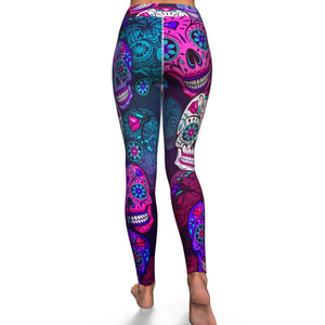 Skull Leggings - سروال الجماجم