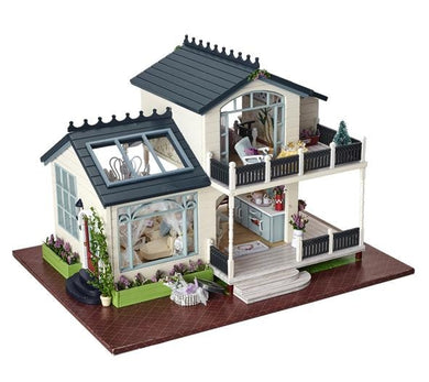 بيت خشبي للدمى تركيب - Wood dollhouse for kids