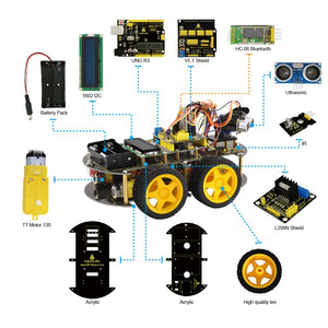 DIY Smart Educational Programmable Robot Car - لعبة سيارة ذكية تعليمية