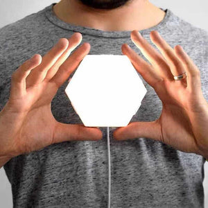 Touch Magnetic Lamp which can be reshaped by user - لمبة يمكن تغيير شكلها وتركيبها مغناطيسيا