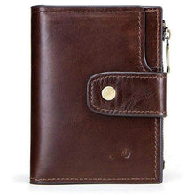 Load image into Gallery viewer, Smart Genuine Leather Wallet - محفظة رجالية ذكية جلد اصلي