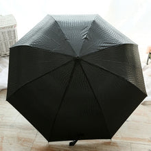 Load image into Gallery viewer, شمسية جلدية للرجال -  High Quality Leather Umbrella for Men