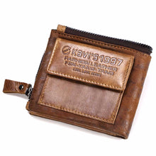 Load image into Gallery viewer, 100% Horse Genuine Leather Men Wallet - محفظة رجالية م جلد حيواني اصلي