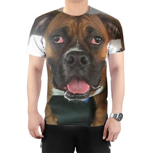 Load image into Gallery viewer,  T-shirt with dog's picture - بلوزة مع صورة كلب - Gift Shop - Gift design - Print Gift - هدية - تصميم هدايا