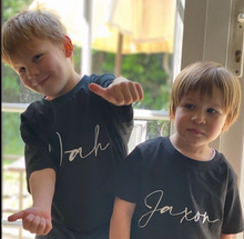 Load image into Gallery viewer, Personalised Kids T-shirts