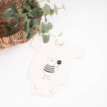 Load image into Gallery viewer, Bonjour Bear!©kimono baby suit