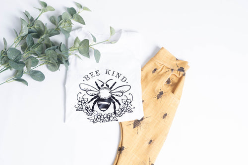 Bee Kind kids tshirt