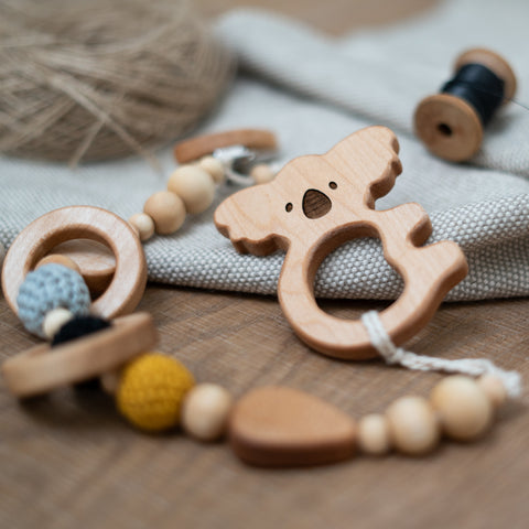 KiKi the Koala wooden teether
