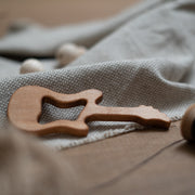 Musician Teether: guitar wooden teether