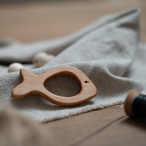 Sushi the Fish wooden teether