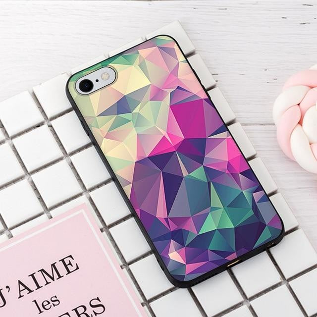 Diamonds Fade - 28 / For iPhone 5 5s SE