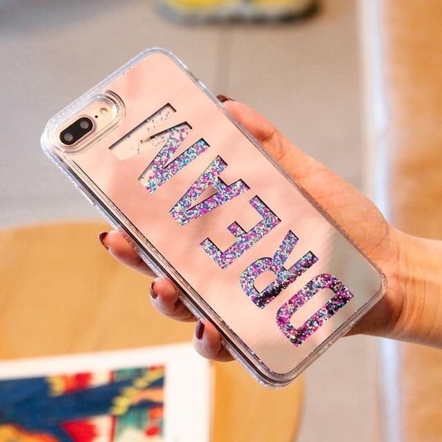 Dream Mirror RoseGold - RoseGolden / For iPhone 6 6S