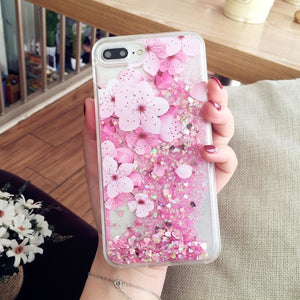 Falling Big Flower Phone Case