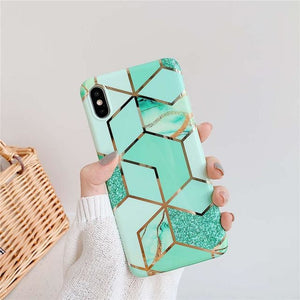 Geometric Forest - For iphone 8 / Green