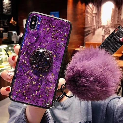 Luxury Bling (Purple) - 2 / for iphone 6 6S